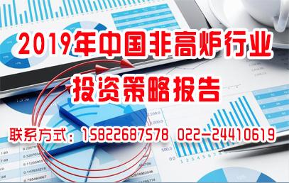 2019年中国非高炉行业投